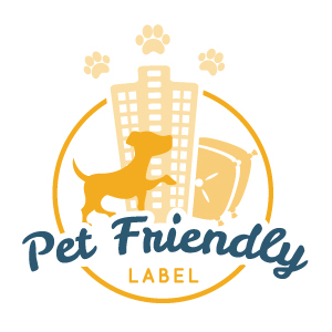 Pet Friendly Label Logo