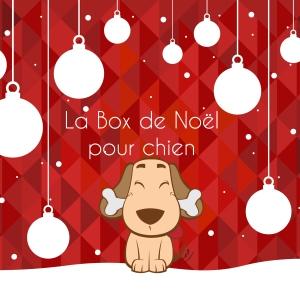 Vignette box noel Chien